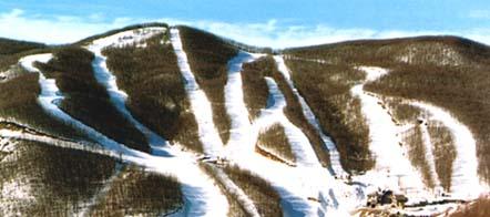 piste con la neve