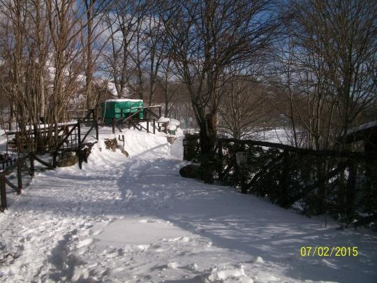 La prima neve.