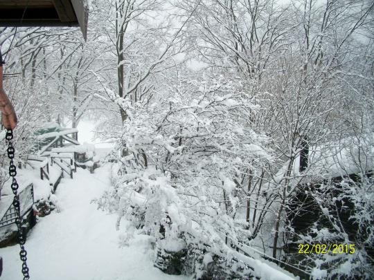 Ancora neve.
