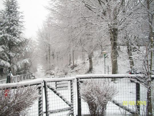 Ancora un pò di neve.