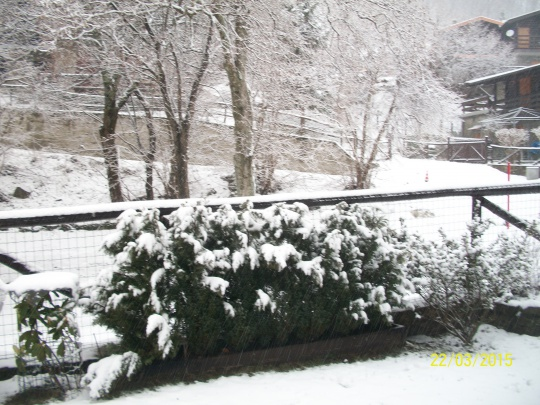 La neve  reca tranquillità.